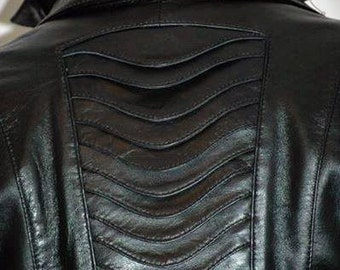Minx lady - women's leather jacket (Free shipping)
