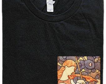 Violin Pocket Shirt (Eliseu Visconti- A Musica)