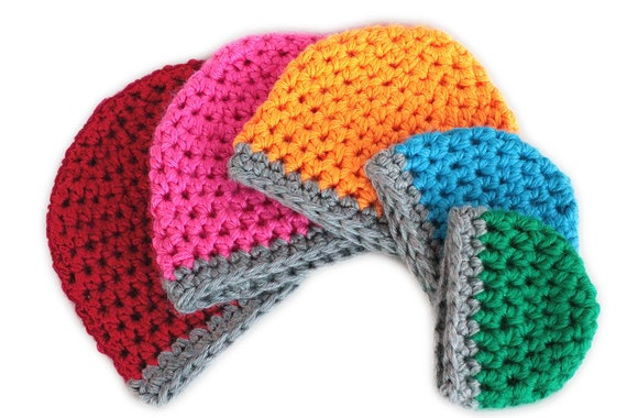 Crochet Pattern: Chunky Crochet Beanie Hat in by ...