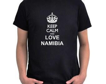 Keep calm and love Namibia T-Shirt