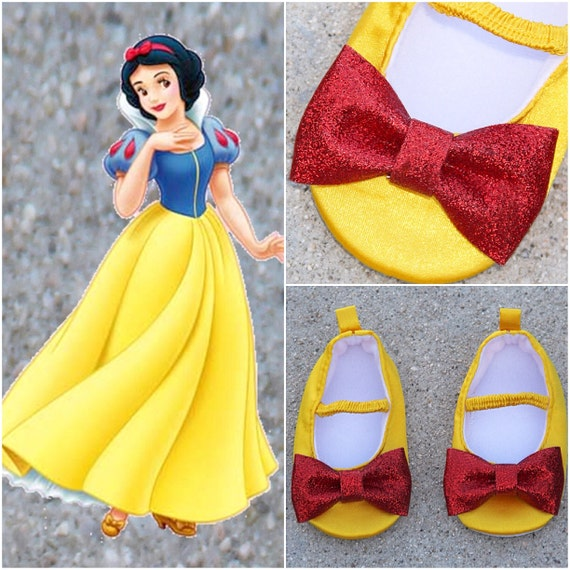 Snow White Baby Shoes Minnie Mouse Baby Shoes Flat Crib Shoes