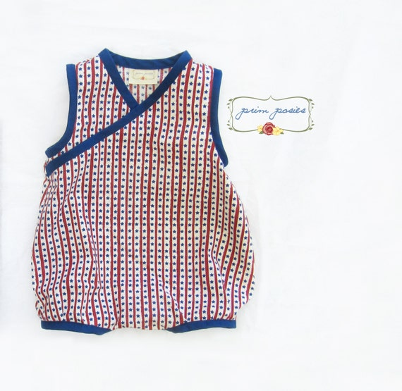 July Outfit Baby Boy Romper Clothes