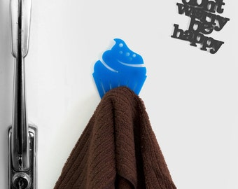 FREE SHIPPIMG - Cupcakes Hook magnet-  hand towel holder -Magnet hook for hanging a towel on the refrigerator