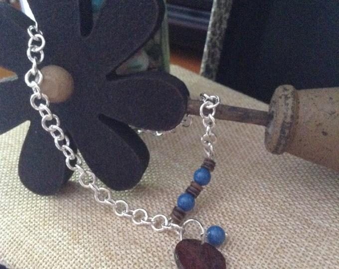 Swarovski Blue Anklet