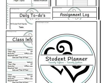 Student Planner 2016-2017