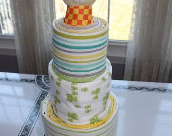 Large Babycake, Gender Neutral- Baby Shower Gift- New Mom Gift
