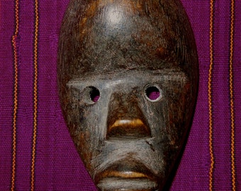 Dan Tribal Passport Mask Worn For Identification Cote d'Ivoire African Ethnic Art *8