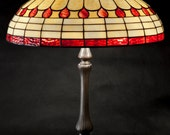 Art Deco Lamp Shade Art Deco Light Stained Glass Table Lamp Vintage Lamp Art Deco Light Fixture Art Deco Lighting Bedside Lamp