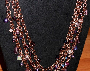 Gypsy Dreams Chain Maille Necklace