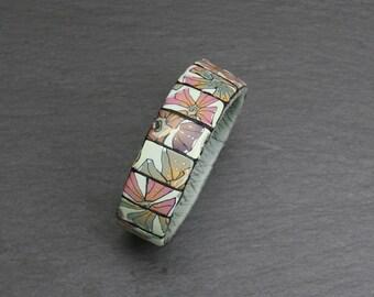 Bracelet in mosaic