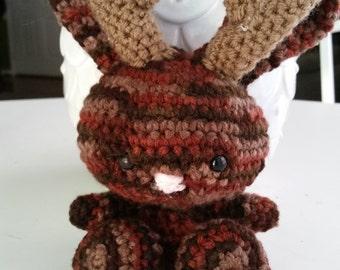Crochet Jackalope Doll