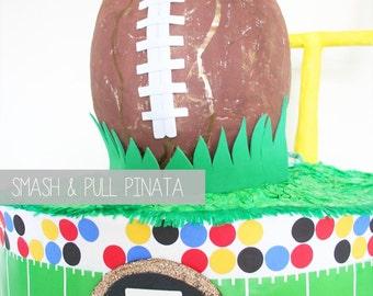 Sports Pinata | Football Party | Game Day | Tailgating | Soccer Birthday | Sports Theme Decor | Football Field | Stadium | Team Pennant