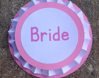 Bridal Party Button Pins