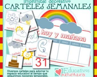 Colección de carteles semanales - català -