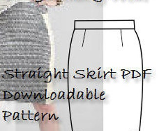 A Size 6 Skirt Pattern-Great Sewing Project- Full Pattern & Detailed, Illustrated  Sewing Guide- Use Today! PDF