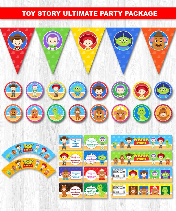 Toy Story Party Package Toy Story Party Pack Toy Story Party