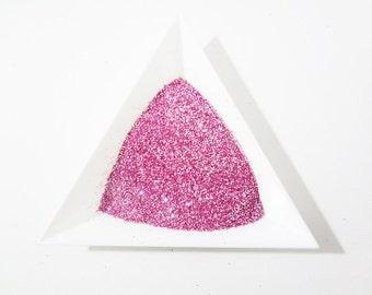 "Ice Pink Loose Ultra Fine Glitter, .008"" Hex"