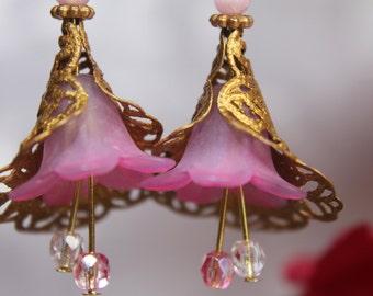 Dusky Pink Bellflowers #1691