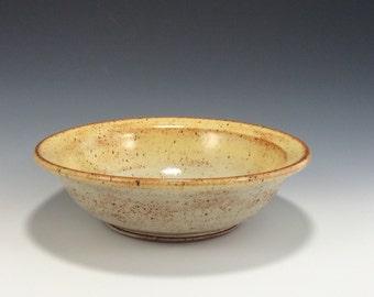 Creamy Yellow Handmade Ceramic Serving Bowl