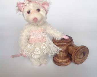Mohair Teddy Bear Mouse