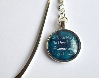 Harry Potter Bookmark ~ It Does Not Do To Dwell... ~ Geek Harry Potter Book Mark