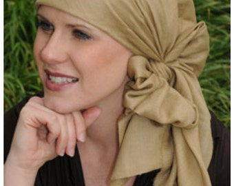 Solid Cashmere Head Scarf - Head Covering, Head Scarves, Modest Woman, Cancer Scarfs, Chemo, Cancer Patients
