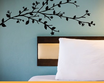 Blossom Tree with Bird | Removable Wall Decal Sticker | MS094VC