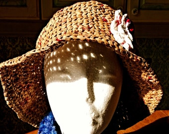 Recycled  crocheted hat