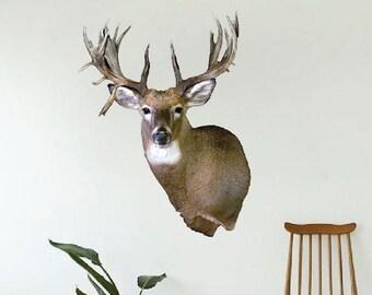 Deer wall decor   Etsy