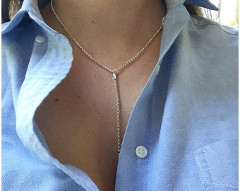 Sterling Silver Lariat