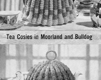 Vintage Knitting and Crochet Pattern for Tea Cosies