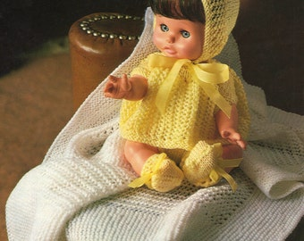 Knitting Patterns For Dolls Clothes 12 Inch : Sindy Dolls Clothes Knitting Pattern Ski Outfit Sweater
