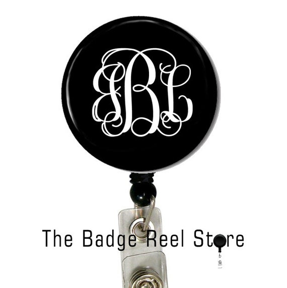 retractable id badge holder name tag personalized name