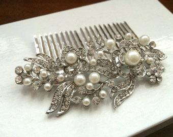 bridal comb,wedding comb hair accessory,wedding hair comb,pearl bridal comb,wedding hair accessory,bridal hair piece,wedding headpiece