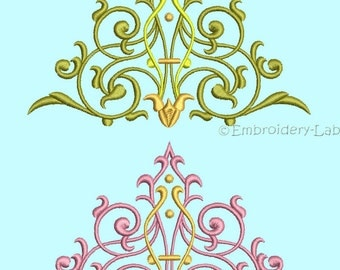 Ornate Ornament Embroidery Pattern 0001 Set - digital designs for embroidery machine