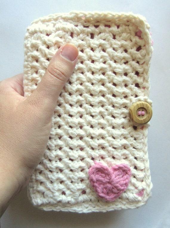 Crochet Hook Case, Organizer & Holder, Crocheted Gift for the Crochet ...
