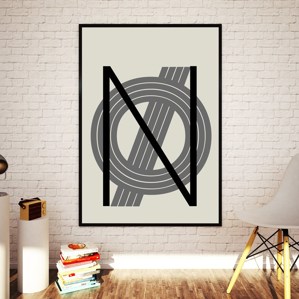 Design poster 70x100 - No Letters Scandinavian Playtype Poster 24x36 70x100 Cm Modern Typography Art Nordic