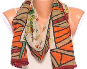 brown scarf Beach scarf shawl scarf summer scarves womens scarves beach pareo womens fashion scarves gift Ideas for womens accessories