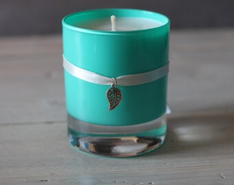 Candle scented Decorative Jasmine rain aRt dared