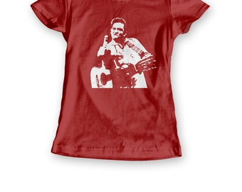 Johnny Cash women's fit shirt - 3 colour options