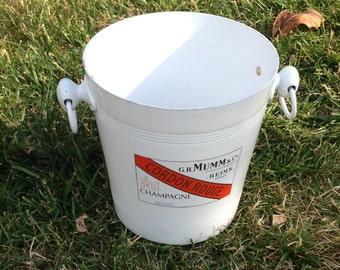 Champagne bucket White From MUMM brand