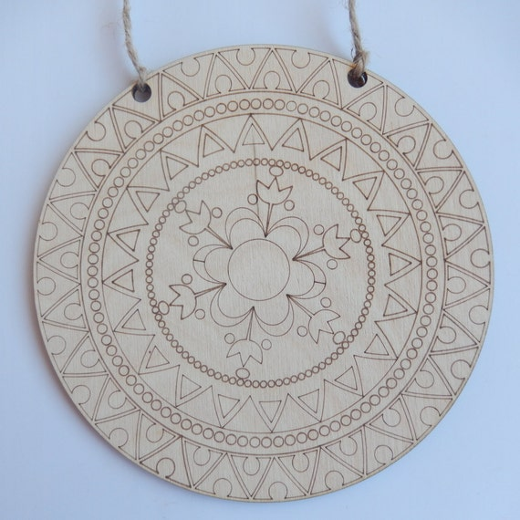 Hanging Mandala Plate Wall DecorMandala ColoringMandala Art
