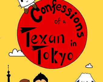 Book: Confessions of a Texan in Tokyo [signed by author]