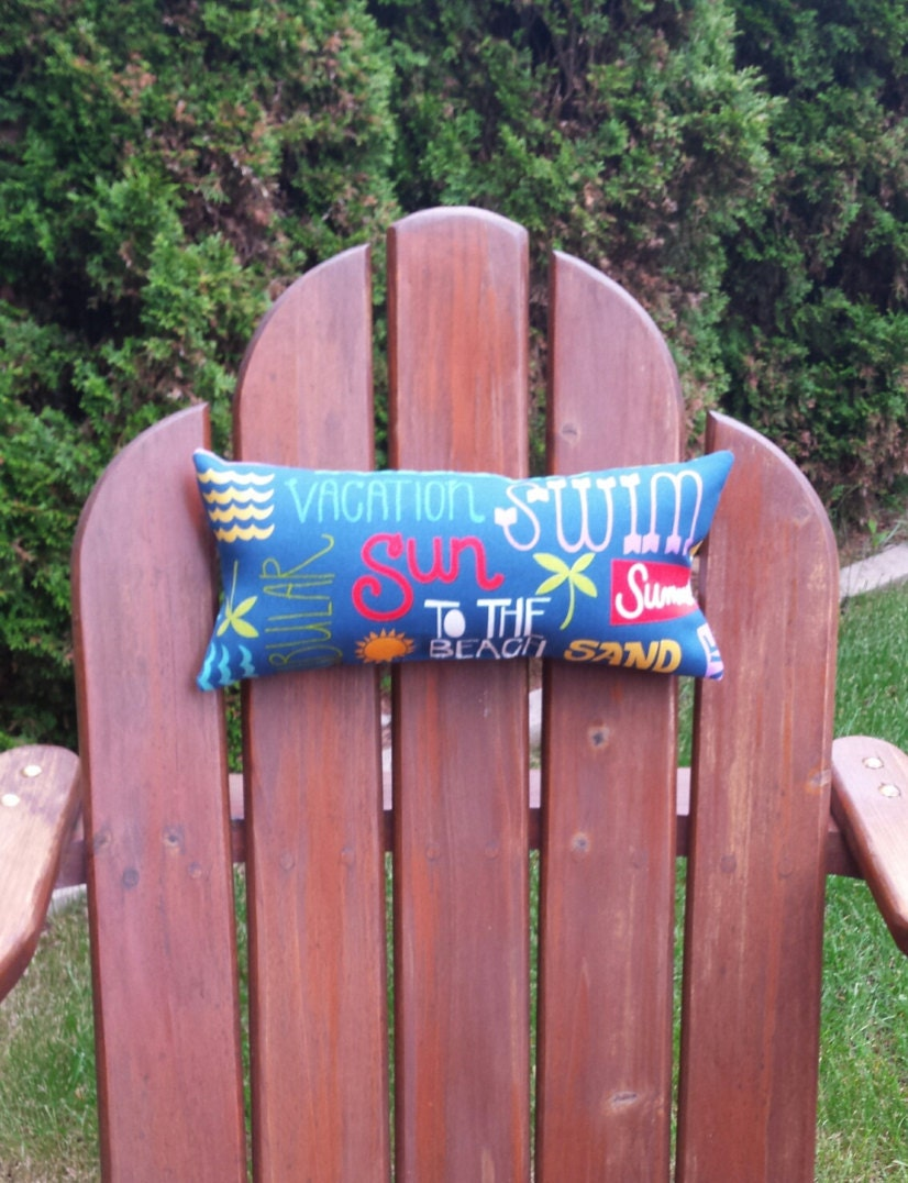 Adirondack chair head neck pillow set of 2 free by trudydesigns