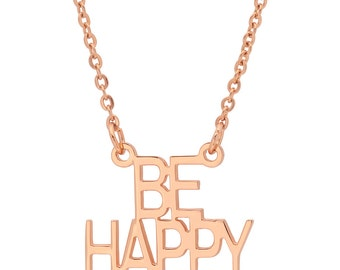 BE HAPPY Necklace!