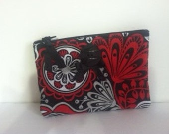 Zippered Coin Bag