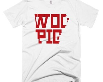 "Arkansas Razorbacks ""Woo Pig"" custom t-shirt"