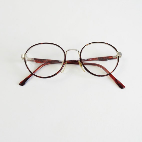 RESERVED 80s round eyeglasses vintage 1980s circle glasses