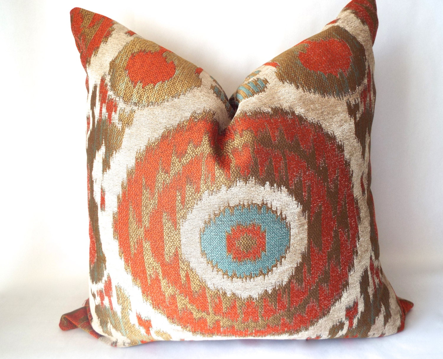 Red And Orange Decorative Pillows : Red Throw Pillow Orange Pillow Cover Decorative Pillows Red