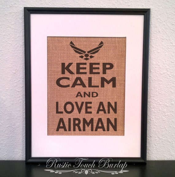 Air Force Decor Air Force Wife Air Force By Rustictouchburlap